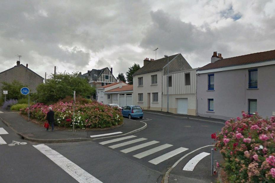 Perspective d'insertion - Projet d'extension et de surélévation d'une maison individuelle à Cholet